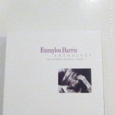 CDs de Música: EMMYLOU HARRIS ANTHOLOGY THE WARNER REPRISE YEARS 2CD ( 2001 RHINO WARNER ARCHIVES ) GRAM PARSONS. Lote 75831371