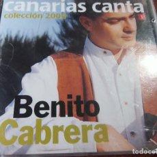 CDs de Música: BENITO CABRERA UNO DE NUESTROS MEJORES TIMPLISTAS CANARIOS MUSICA CANARIA. Lote 75854323