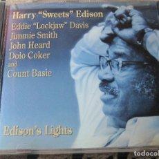 CDs de Música: HARRY ''SWEETS'' EDISON - EDISON'S LIGHT - PABLO RECORDS 1976-FANTASY 1994 . Lote 75885191