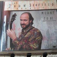 CDs de Música: JOHN SCOFIELD QUARTET - MEANT TO BE - BLUE NOTE 1991 . Lote 75887063