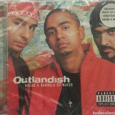 CDs de Música: OUTANDISH VERÁS & BARRELS WATER. Lote 75892106
