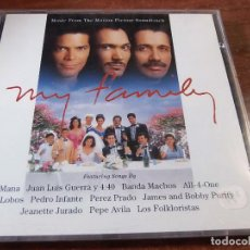 CDs de Música: MY FAMILY. Lote 75906639