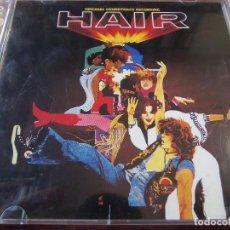 CDs de Música: HAIR DOBLE CD. Lote 75918015