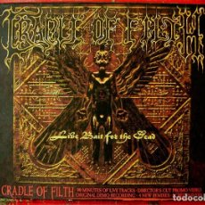 CDs de Música: CRADLE OF FILTH.LIVE BAIT FOR THE DEAD...RARO...METAL UK...DOBLE CD. Lote 75920331