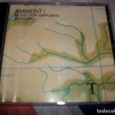 CDs de Música: BRIAN ENO - AMBIENT 1 MUSIC FOR AIRPORTS. Lote 76015587