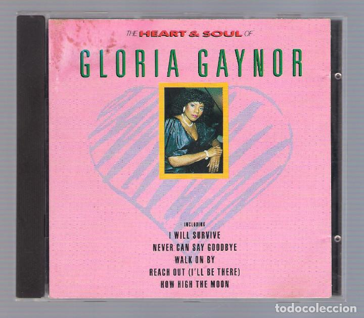 GLORIA GAYNOR - THE HEART & SOUL (CD 1990, KN CD 12058) (Música - CD's Jazz, Blues, Soul y Gospel)