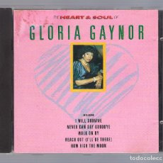 CDs de Música: GLORIA GAYNOR - THE HEART & SOUL (CD 1990, KN CD 12058). Lote 76017191