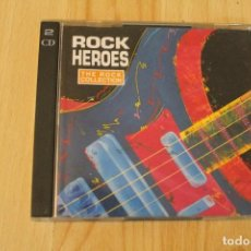 CDs de Música: CD THE ROCK COLLECTION ROCK HEROES DOBLE CD. Lote 76025487