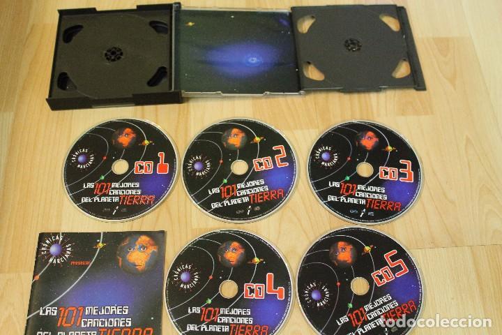 CDs de Música: CD LAS 101 MEJORES CANCIONES DEL PLANETA TIERRA CRONICAS MARCIANAS 5 CDS - Foto 2 - 76026127