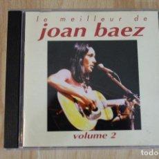 CDs de Música: CD LE MEILLEUR DE JOAN BAEZ VOLUME 2 DIFICIL DE ENCONTRAR. Lote 76031039