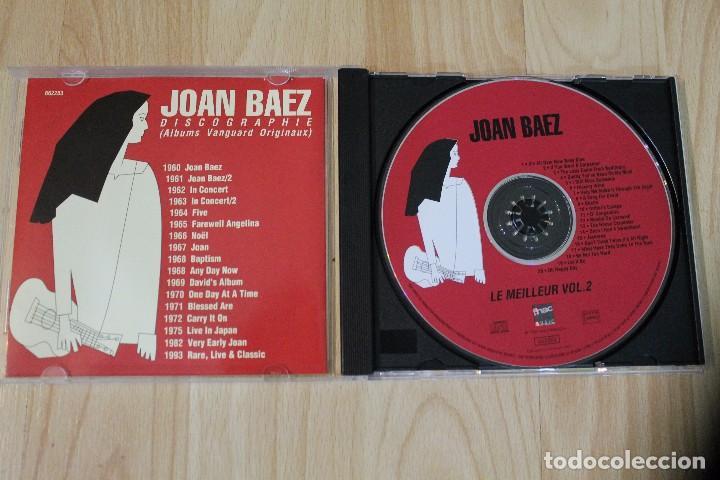 CDs de Música: CD LE MEILLEUR DE JOAN BAEZ VOLUME 2 DIFICIL DE ENCONTRAR - Foto 2 - 76031039