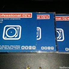 CDs de Música: PROFESSIONAL DJ'S VOL.2 4CDS. Lote 76100319