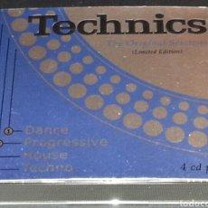 CDs de Música: TECHNICS THE ORIGINAL SESSIONS 4CDS. Lote 76102617