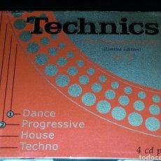 CDs de Música: TECHNICS THE ORIGINAL SESSIONS VOL. 2 4CDS. Lote 76111641