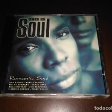 CDs de Música: THIS IS SOUL CD. Lote 76142591