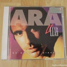 CDs de Música: CD LLUIS LLACH ARA 25 ANYS EN DIRECTE DOBLE CD. Lote 76149435
