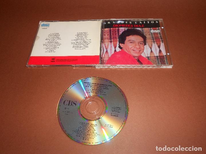 GRANDES EXITOS DE DIOMEDES DIAZ - CD - CDC464508 - FANTASIA - TU SERENATA - BONITA ... - E. DIFICIL (Música - CD's Latina)