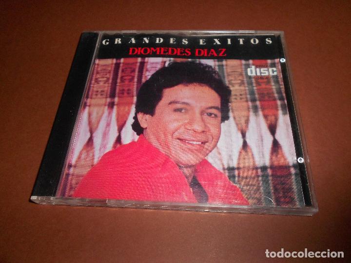 CDs de Música: GRANDES EXITOS DE DIOMEDES DIAZ - CD - CDC464508 - FANTASIA - TU SERENATA - BONITA ... - E. DIFICIL - Foto 2 - 76172483
