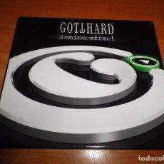 CDs de Música: GOTTHARD DOMINO EFFECT CD ALBUM DIGIPACK 2007 ALEMANIA CONTIENE 15 TEMAS HEAVY METAL. Lote 76178571