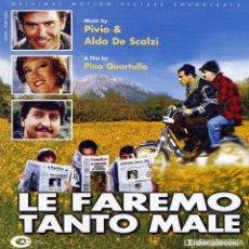 CDs de Música: LE FAREMO TANTO MALE / PIVIO & ALDO DE SCALZI CD BSO. Lote 27135649