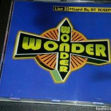 CDs de Música: DISCOTECA WONDER LIVE DJ. JOSEPH - CD MUY RARO Y DIFICIL. Lote 76312674