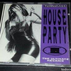 CDs de Música: HOUSE PARTY I - THE ULTIMATE MEGAMIX CD - 1992 RARO. Lote 76323931