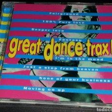 CDs de Música: GREAT DANCE TRAX II - CD 1996. Lote 76336107