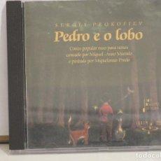 CDs de Música: PEDRO E O LOBO - SERGEI PROKOFIEV- XOVE ORQUESTRA DE GALICIA - DIR. JOÁM TRILLO - MIGUEL ANXO MURADO. Lote 76386871