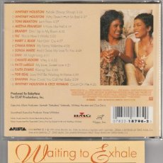 CDs de Música: WAITING TO EXHALE (BSO) CD ARISTA 1995. Lote 76421315