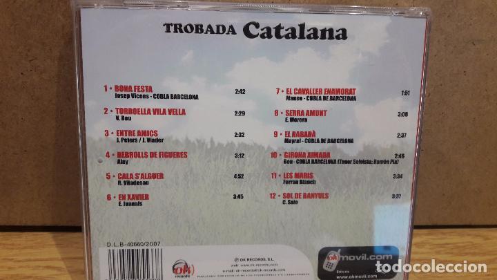 CDs de Música: TROBADA CATALANA. CD / OK RECORDS - 2007. 12 TEMAS / CALIDAD LUJO. - Foto 3 - 76441535