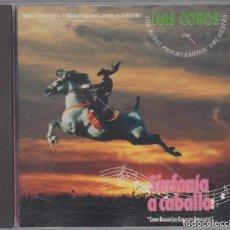 CDs de Música: LUIS COBOS CD CON THE ROYAL PHILHARMONIC ORCHESTRA 1991 SINFONÍA A CABALLO . Lote 76555911
