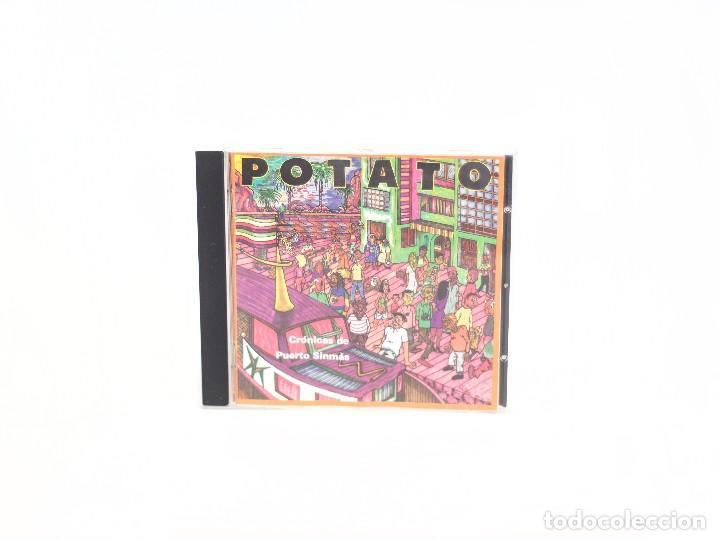 CD CRÓNICAS DEL PUERTO SINMÁS. POTATO. OIHUKA. 1995. (VG+/VG+) (Música - CD's Reggae)