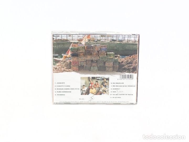 CDs de Música: CD Crónicas del Puerto Sinmás. Potato. Oihuka. 1995. (VG+/VG+) - Foto 2 - 76561023