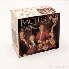 CDs de Música: BACH SONS. 7 CD. C. P. E. BACH, J. C. BACH, W. F. BACH, J. C. F. BACH. Lote 76576899