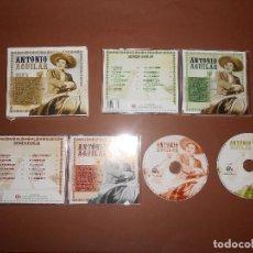 CDs de Música: ANTONIO AGUILAR - 2 CD'S - OK RECORDS - CD-2184 - EL PATAS BLANCAS - CANCION DEL PRESO .... Lote 76596435