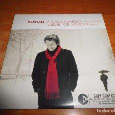 CDs de Música: RAPHAEL BLANCA NAVIDAD / VUELVE POR NAVIDAD (MEDLEY) CD SINGLE PROMO CARTON SOLO 200 UNIDADES RARO. Lote 237456810