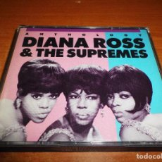 CDs de Música: DIANA ROSS & THE SUPREMES ANTHOLOGY DOBLE CD ALBUM MOTOWN 1976 USA MUY RARA CAJA ANCHA 49 TEMAS 2 CD. Lote 76630119