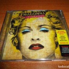 CDs de Música: MADONNA CELEBRATION DOBLE CD ALBUM REMASTERIZADO 2009 EU JUSTIN TIMBARLAKE TIMBALAND LIL WAYNE 2 CD. Lote 76634035