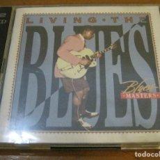 CDs de Música: BLUES MASTERS - LIVING THE BLUES - DOBLE CD WARNER 1997 TIME . Lote 76643891