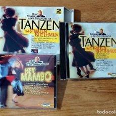 CDs de Música: HEY, MAMBO / TANZEN IM STRIKTEN RHYTHMUS (ORQ. HUGO STRASSER) BAILE DE SALON 2 CDS. Lote 76655987