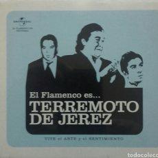 CDs de Música: TERREMOTO DE JEREZ EL FLAMENCO ES...... VIVE EL ARTE Y EL SENTIMIENTO. Lote 76673101