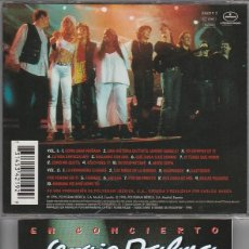 CDs de Música: SERGIO DALMA EN CONCIERTO / DOBLE CD POLYGRAM 1996. Lote 128722680