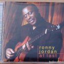 CDs de Música: RONNY JORDAN - AT LAST (CD) 2003. Lote 76724607