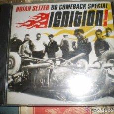 CDs de Música: BRIAN SETZER 68 COMEBACK SPECIAL IGNITION 2001 SURDOG EX STRAY CATS. Lote 103821760