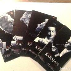CDs de Música: KARAJAN. 10 CDS EN ESTUCHES DOBLES . Lote 76817835