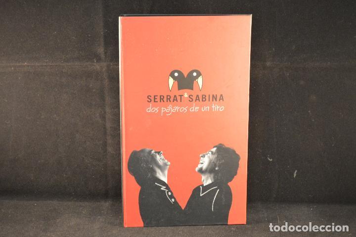 SERRAT 6 SABINA - DOS PAJAROS DE UN TIRO - 2 CD´S + 1 DVD (Música - CD's Rock)