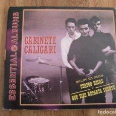 CDs de Música: GABINETE CALIGARI - CUATRO ROSAS Y QUE DIOS REPARTA SUERTE (CD, COMP, RE, DIG) . Lote 76895939