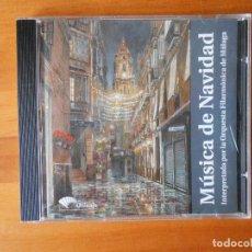 CDs de Música: CD MUSICA DE NAVIDAD - INTERPRETADA POR LA ORQUESTA FILARMONICA DE MALAGA (C8). Lote 76937001