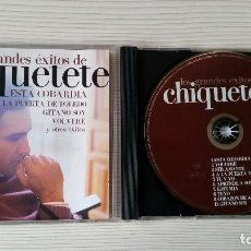 CDs de Música: CHIQUETETE(LOS GRANDES ÉXITOS ). Lote 277066983