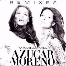 CDs de Música: AZUCAR MORENO - MAMMA MIA REMIXES CD SINGLE 8 TEMAS 2000. Lote 76973169